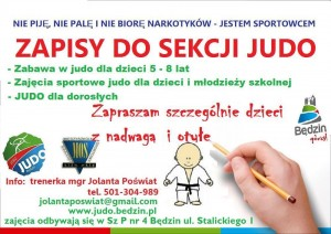 zapisy judo bedzin